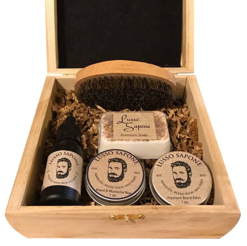 Beard Kit. Includes: Beard Oil Beard Balm Beard Wax Soap image 0