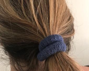 Alpaca Hair Ties, Alpaca Elastics, Alpaca Scrunchie/Scrunchy, Assorted Hair Ties, Pack of 3