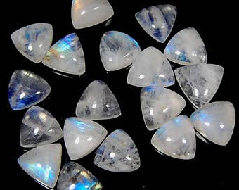 52.80 Cts aaa 100% natural fantastic blue fire rainbow MOONSTONE celebrated Fancy shape lot 18 pc LOOSE GEMSTONE