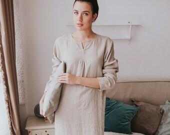 Linen Night Dress 3be1750f01
