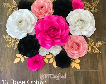 Rose Set A - 13 or 15 Roses Customize