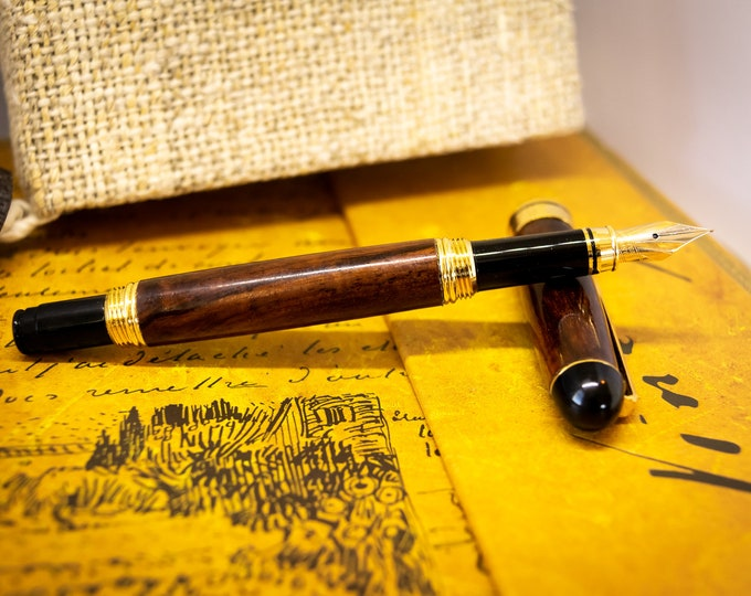Featured listing image: Exotic Wood Fountain Pen