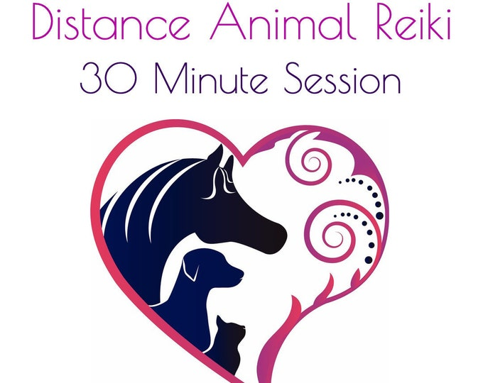 Featured listing image: Animal Distance Reiki Session - 1/2 hour