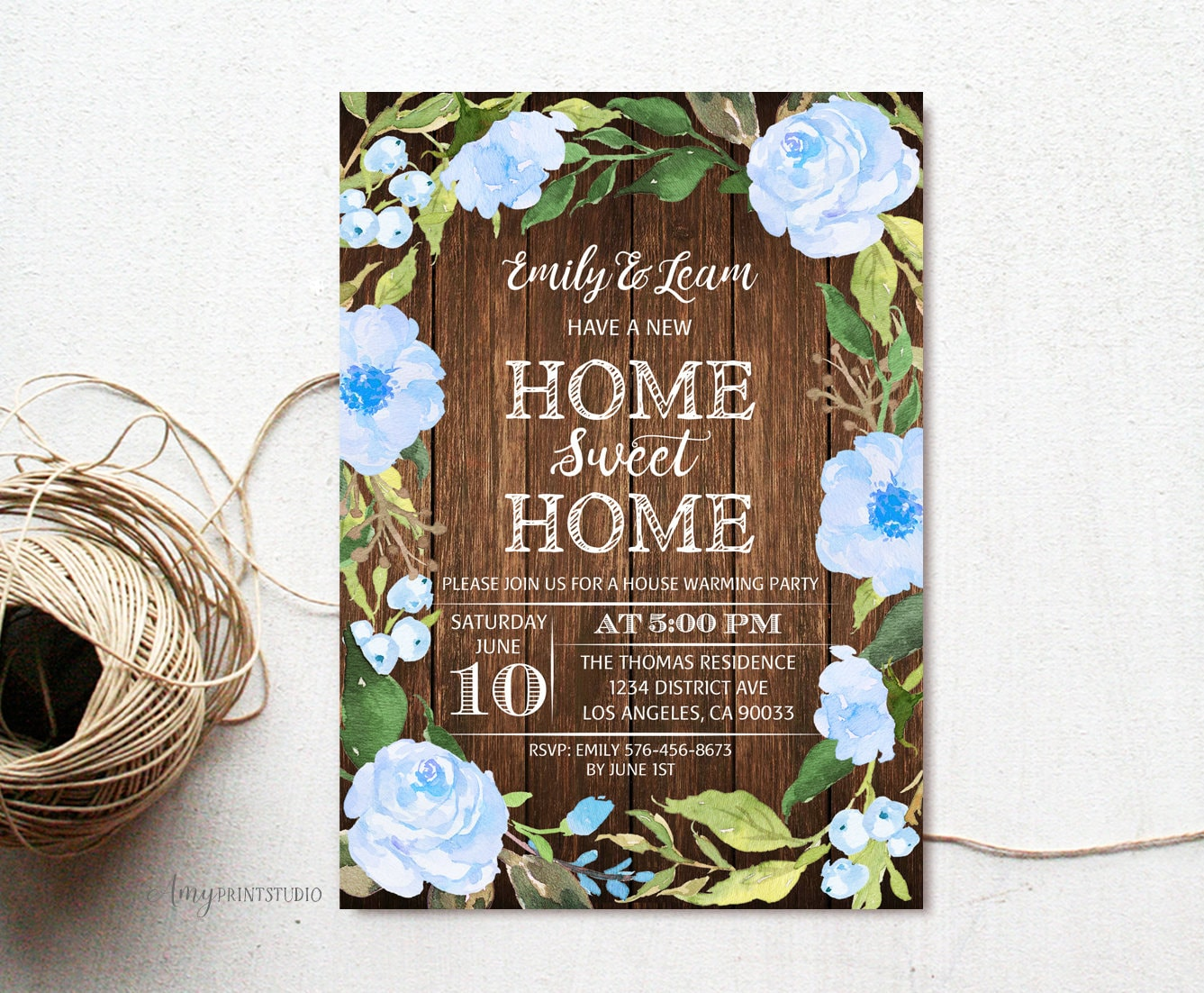 House Warming Invitation House Warming Party Invite Home Etsy
