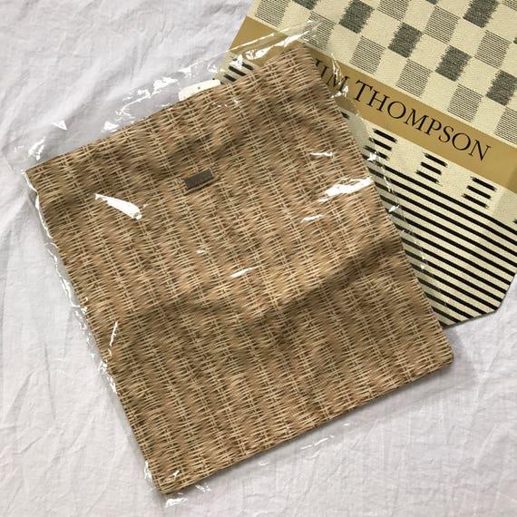 JIM THOMPSON Basket Tote Bag   Etsy d5e22f0fc2
