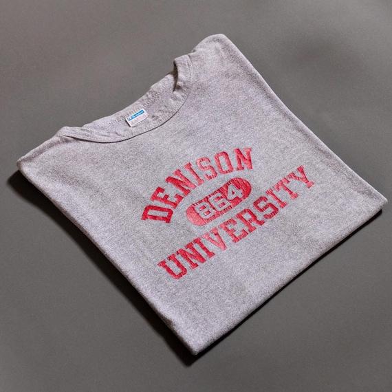 Vintage Denison University 1970s T-Shirt Champion