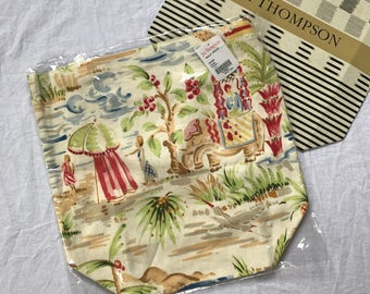 JIM THOMPSON Elephant Tote Bag