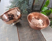 Offering Bowl SMALL Hand Hammered Copper Offering Bowl Tibetan Offering Bowl Incense Holder Smudge Bowl Alter Bowl Tibetan Bowl
