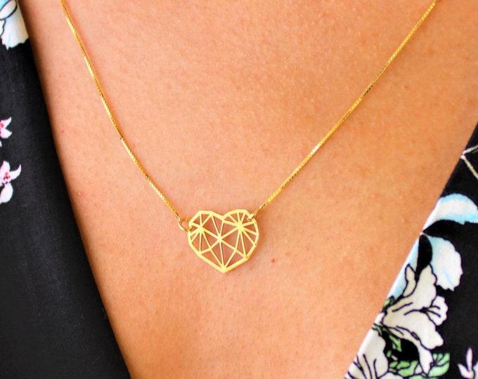 Collar Corazón - Heart Necklace