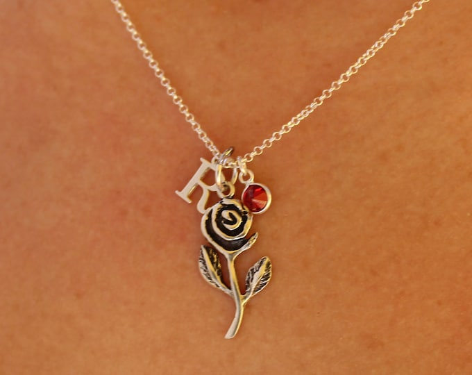Collar Rosa - Rose Necklace