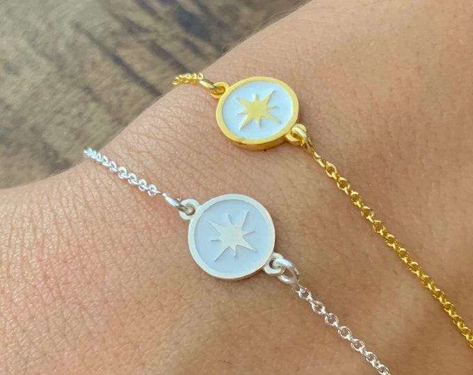 Compass Bracelet, Bracelets For Women, Compass Jewelry, Dainty Bracelet, Gold Bracelet, Gold Compass Bracelet, Women Bracelet, Gift For Her