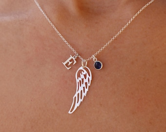 Collar Ala De Angel - Angel Wing Necklace