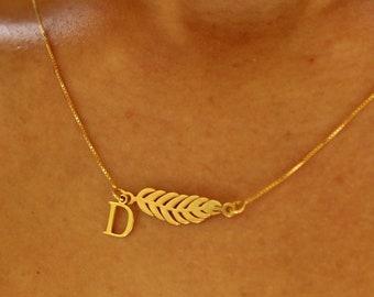 Collar Pluma - Feather Necklace