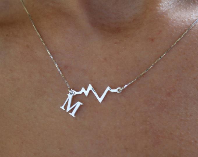 Collar Latido - Heartbeat Necklace