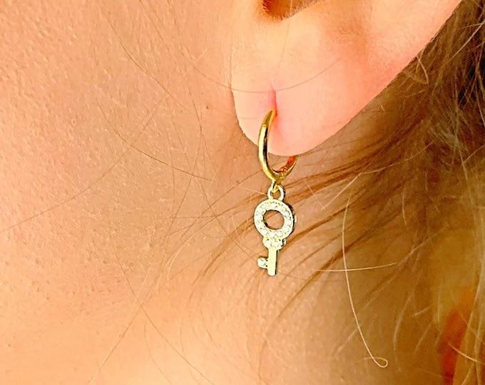 Key Earrings
