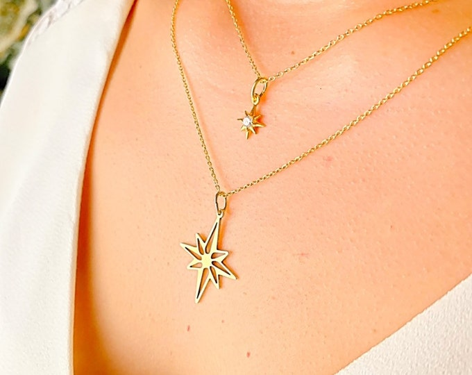 Pole Star Necklace