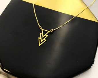 Collar Triangulos - Triangle Necklace