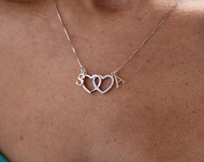 Collar Corazones - Heart Necklace