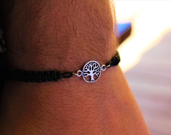 Tree Of Life Bracelet, Mens Bracelet, Bracelets For Men, Charm Bracelet, Tree Of Life Jewelry, Bracelet Men, Tree Bracelet, Bracelet