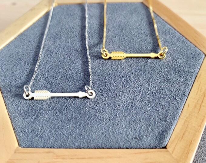 Collar Flecha - Arrow Necklace
