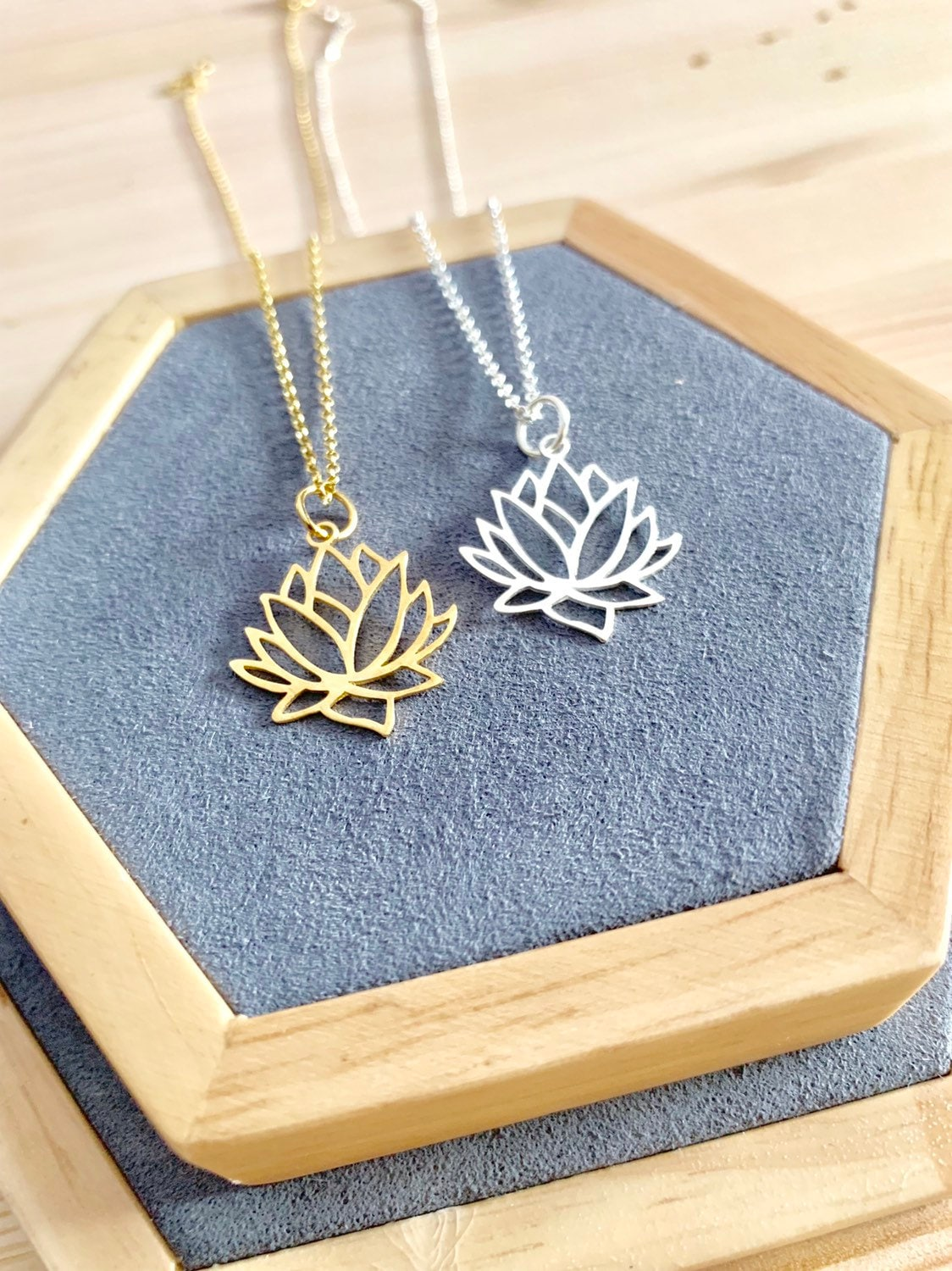 Lotus Flower Necklace Necklaces For Women Lotus Flower Jewelry