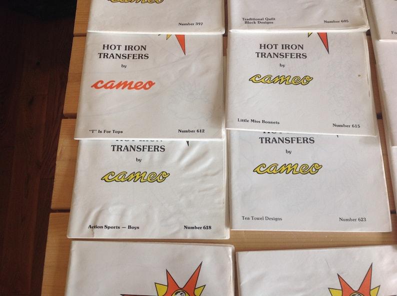 Hot Iron Transfers and E-Z Stencil Designs by Cameo