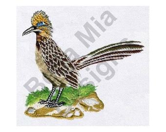 Bird - Machine Embroidery Design, Roadrunner