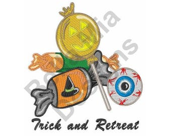 Halloween Candy - Machine Embroidery Design