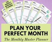 Monthly Planner - Using t...