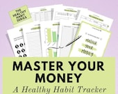 Financial Printable Planner Pack, a simple approach to handling your money effectively, improve your financial situation now