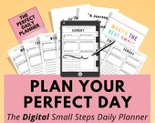 Digital Daily planner, Goodnotes, Notability, iPad Tablet, Digital Journal, Digital Planning, Digital Notebook, Daily Organizer, Agenda