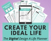Digital Planner, Life & Goal Planner, Goodnotes, Notability, iPad Tablet, Digital Journal, Digital Planning, Digital Notebook, Self Care
