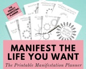 Law of Attraction Planner - Manifest the life you want with this awesome process - It's the ultimate mental health and self care practice