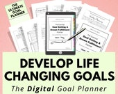 Digital Goal Planner, Digital Journal, Goal Tracker, Life Planner, Goodnotes, Notability, iPad Tablet, Digital Planning, Digital Notebook