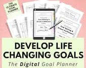 Digital Goal Planner, Digital Journal, Goal Tracker, Life Planner, Goodnotes, Notability, iPad Tablet, Digital Planning, Digital Notebook
