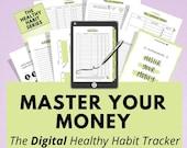 Digital Financial Planner, Goodnotes, Notability, iPad Tablet, Digital Journal, Digital Planning, Digital Notebook, Budget, Debt, Savings