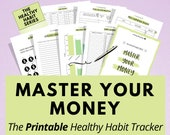 Printable Financial Planner Pack, a simple approach to handling your money effectively, improve your financial situation now, save money