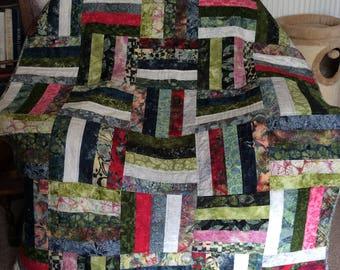 Hoffmann - Bohemian Batik Patchwork Quilt
