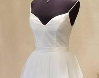 Audrey- Sweetheart Cut Tulle Ballgown