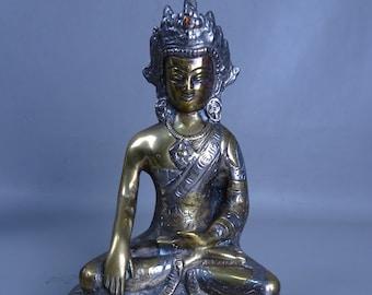Bronze Buddha from India