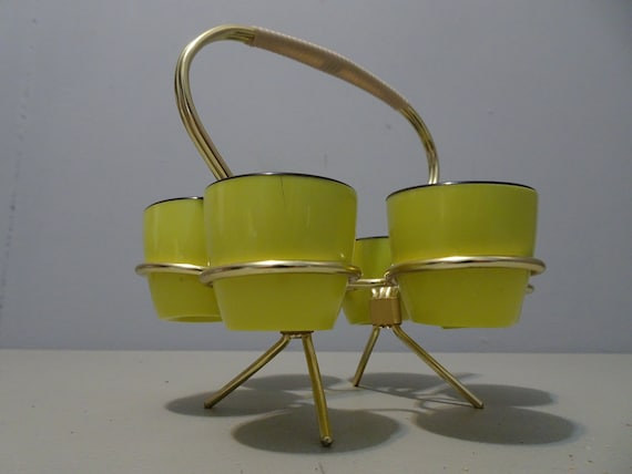 Egg Chair Aanbieding.Vintage Set Of Egg Villages In Dish Years 1960 Etsy