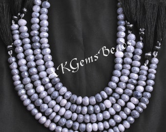 Size 8-8.5mm 8 Inches Strand Top Mystic Ruby Zoisite Moonstone Faceted Tear Drops AAA Quality