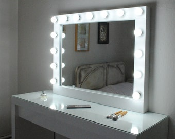 Vanity mirror etsy popular items for vanity mirror aloadofball Choice Image