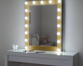 hollywood kosmetikspiegel mit lightsmake spiegel mit. Black Bedroom Furniture Sets. Home Design Ideas