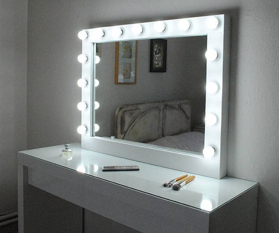 Hollywood Vanity Mirror With Lightsmake Up Mirror With Etsy