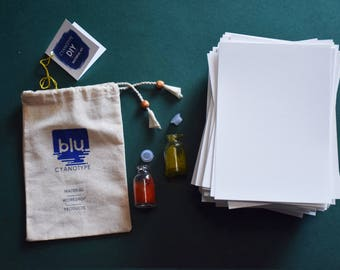 Cyanotype DIY kit