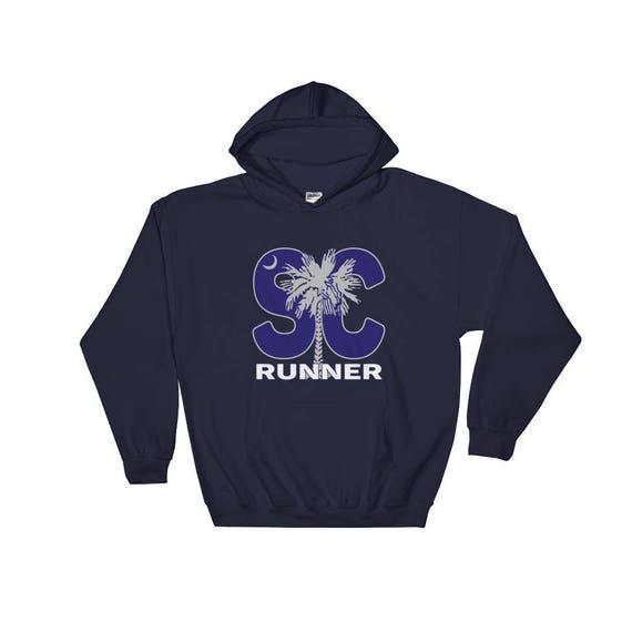 South Carolina Runner Hooded Sweatshirt - Unisex - Hoodie - Heavy Sweatshirt
