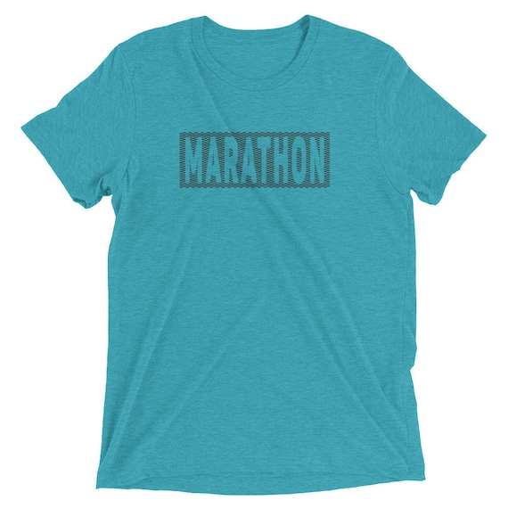 Men's Marathon Triblend T-Shirt - Run Marathon - 26.2-Miles Shirt - Men's Short Sleeve Running Shirt