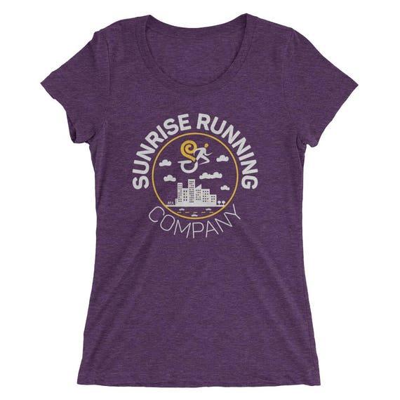 Women's Run Your City TriBlend T-Shirt - City Running - Women's Short Sleeve Running Shirt