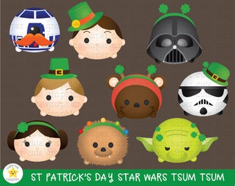 Star Wars Tsum Clipart CLIPART St Patricks Day Party Printable S